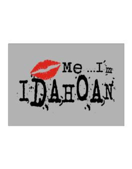 Kiss Me, Im Idahoan - Lips Sticker