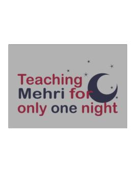 Teaching Mehri For Only One Night Sticker