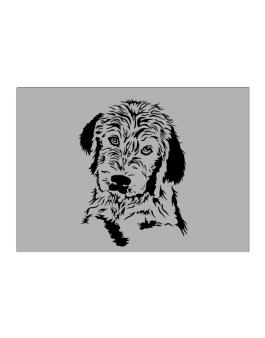 Labradoodle Face Special Graphic Sticker