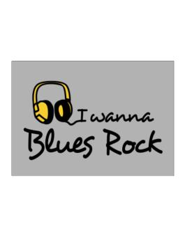I Wanna Blues Rock - Headphones Sticker