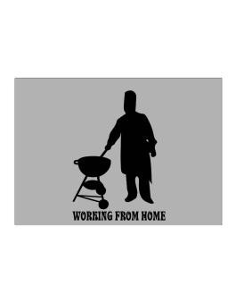 Working from home BBQ chef Sticker