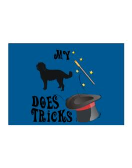 My Labradoodle Does Tricks ! Sticker