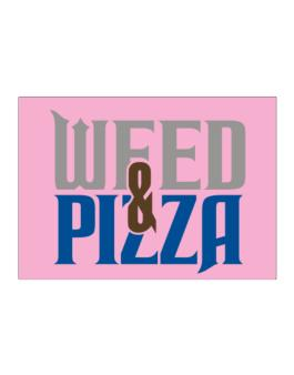 Weed & Pizza Sticker