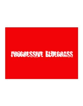 Progressive Bluegrass - Simple Sticker