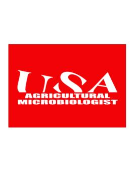 Usa Agricultural Microbiologist Sticker