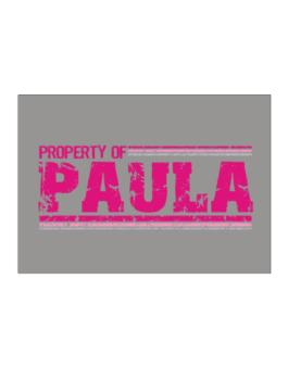Property Of Paula - Vintage Sticker