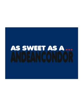 As Sweet As An Andean Condor Sticker