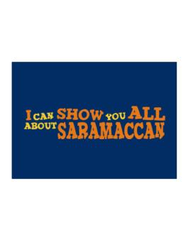 I Can Show You All About Saramaccan Sticker