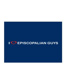 I Love Episcopalian Guys Sticker