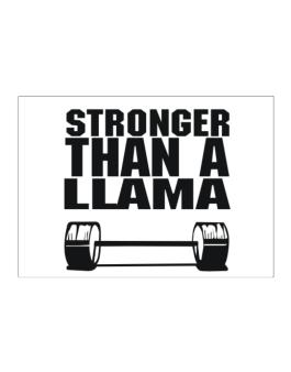 Stronger Than A Llama Sticker