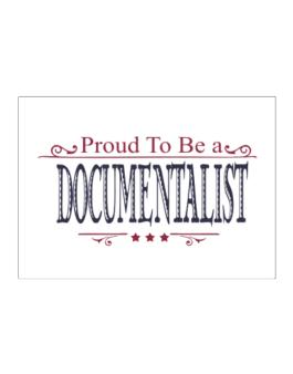 Proud To Be A Documentalist Sticker