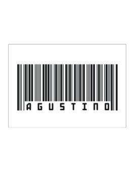 Bar Code Agustino Sticker