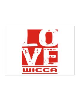 Love Wicca Sticker