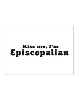 Kiss Me, Im Episcopalian Sticker