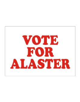Vote For Alaster Sticker