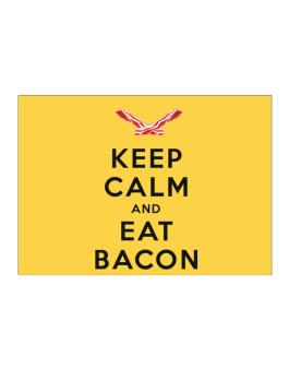 Keep calm and eat Sticker