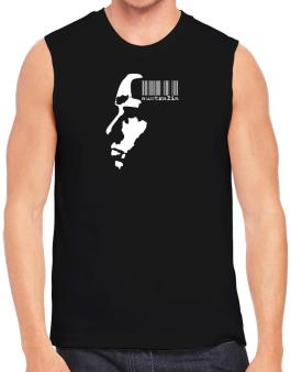 Australia - Barcode With Face Sleeveless