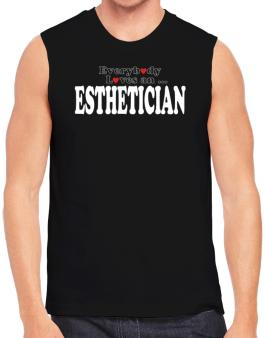Polo Sin Mangas de Everybody Loves An Esthetician