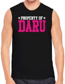 Property Of Daru Sleeveless