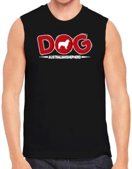 Australian Shepherd / Silhouette - Dog Sleeveless