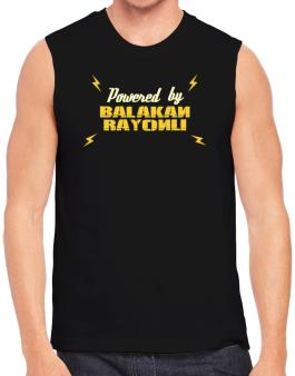Powered By Balakan Rayonu Sleeveless