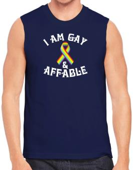 I Am Gay And Affable Sleeveless