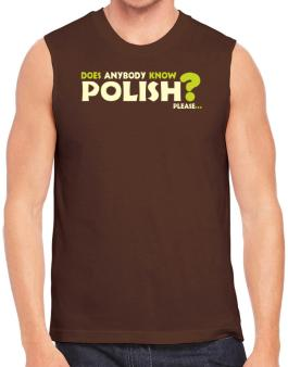 Does Anybody Know Polish? Please... Sleeveless