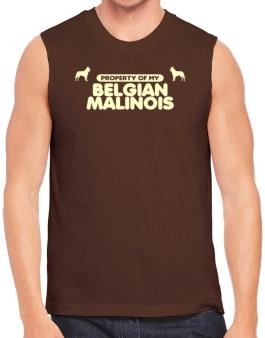 Polo Sin Mangas de Property Of My Belgian Malinois