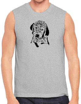 Labradoodle Face Special Graphic Sleeveless