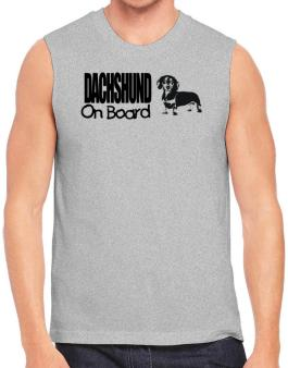 Dachshund On Board Sleeveless