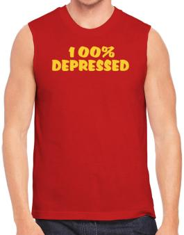 100% Depressed Sleeveless