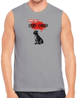 Owned By A Cane Corso Sleeveless