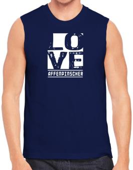 Love Affenpinscher Sleeveless