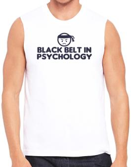 Black Belt In Psychology Sleeveless