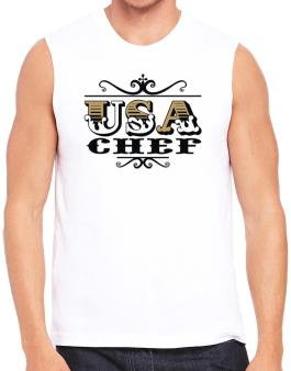 Usa Chef Sleeveless