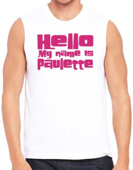 Hello My Name Is Paulette Sleeveless