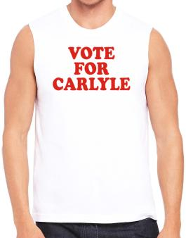 Vote For Carlyle Sleeveless