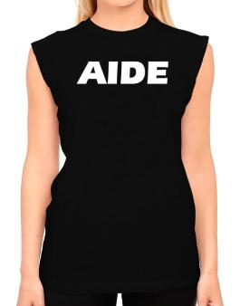 Aide T-Shirt - Sleeveless-Womens