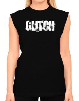 Glitch - Simple T-Shirt - Sleeveless-Womens