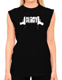 Alroy - Blood And Bullets T-Shirt - Sleeveless-Womens