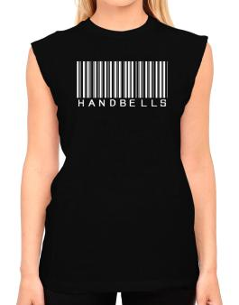 Handbells Barcode T-Shirt - Sleeveless-Womens