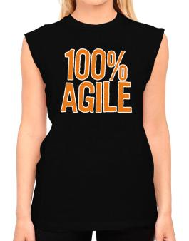 100% Agile T-Shirt - Sleeveless-Womens