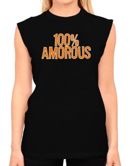 100% Amorous T-Shirt - Sleeveless-Womens