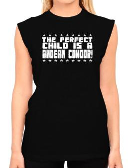 The Perfect Child Is An Andean Condor T-Shirt - Sleeveless-Womens