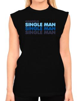 Amadeus Single Man T-Shirt - Sleeveless-Womens