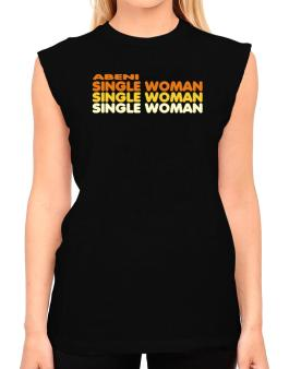 Abeni Single Woman T-Shirt - Sleeveless-Womens
