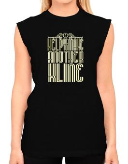 Help Me To Make Another Kline T-Shirt - Sleeveless-Womens