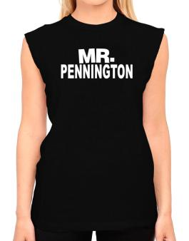 Mr. Pennington T-Shirt - Sleeveless-Womens