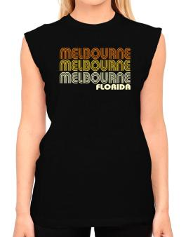 Melbourne State T-Shirt - Sleeveless-Womens