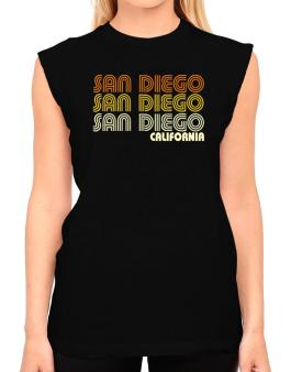 San Diego State T-Shirt - Sleeveless-Womens